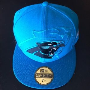 Fitted Carolina Panthers Hat, Size: 7.5
